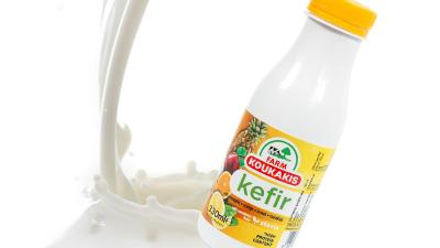 New Kefir with Exotic & Citrus Fruits from Koukakis Farm