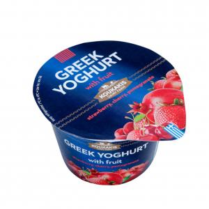 Greek Yoghurt with Strawberry, Cherry, Pomegranate